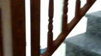 众锦楼梯铝合金扶手全铝扶手仿木纹铝合金楼梯护栏铝合金仿古扶手围栏4