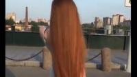 Anastasia Sidorova Playing Long Hair