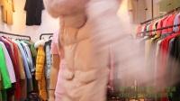 9.07-3冬季羽绒服325一件、15件起批服装批发 尾货折扣品牌服装批发 服装女装批发尾货