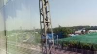 K268次离开京广正线进入西长联络线,去往北京西站方向