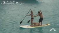引领水上运动-千万桨板达人共演海上秀-桨板C370