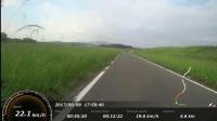 日本远贺川 骑自行车