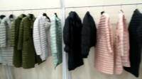 品牌女装轻薄羽绒服超多大长款90%的白鸭绒上身效果非常好的品牌女装折扣