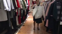 JUST ZZU新作2017年冬装欧美高端品牌女装折扣批发杭州品牌库存