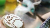 西安食品街-超可爱的手绘龙猫迷你蛋糕