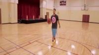 减肥舞蹈篮球课 酷炫实用的转身后撤步 篮球教学视频1 篮球过人教学