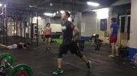 CrossFit BearMove 9.13相扑高位硬拉 俯卧撑 箭步蹲跳 农夫走 体能 健身 心肺 力量 耐力 燃脂 减脂