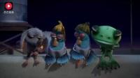爆笑虫子:老鼠青蛙鸽子没有吃的,挨黄虫红虫屎壳郎武装暴打