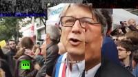 游手好闲的人和极端分子:抗议者如何对他们的马克龙做出回应