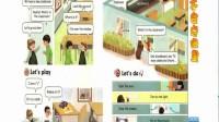 人教版pep英语点读软件四年级上册英语学习软件 哪里不会点哪里,鼠标指到哪里读到哪里,带中文汉字翻译功能,与小学生英语4年级上册课本教材内容一致,和课文知识同步