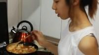 一点儿做韩国五花肉辣白菜20170916
