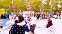 青岛广电全家福 有您更精彩!2017青岛市广播电视台观众听众狂欢节百丽广场集中展示盛况