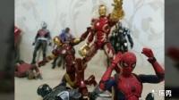 【晓龙的模型】蜘蛛侠 英雄归来 shf 外拍 万代SHF系列 有彩蛋 一定要看,不看会后悔 Spiderman Homecoming 小蜘蛛与复仇者联盟