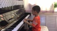 张晓国钢琴教学中心李玖泽演奏的F大调音阶