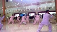 2017保定市中老年人传统太极拳决赛节目,杨式,安新太极拳团队表演