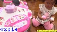 铅笔岛亲子:小女孩的玩具迪斯尼米妮老鼠套装。婴儿学步车和活动学习表火影忍者 小猪佩奇 贝瓦儿歌 奥特曼 蜡笔小新