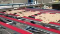 广州恒励100%清废效果双轴双控震荡机:高效,准确,全自动点数叠纸架