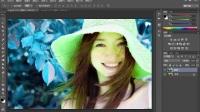 photoshop绿色版 平面设计图怎么画 ps学习