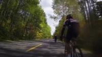2017马自骑长白山天池爬坡