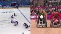 残疾人冰球与轮椅橄榄球的共同点是速度与激情!
