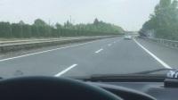 高速路遇到碰瓷 比亚迪S7车主 汪余华拍摄