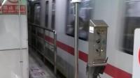 上海地铁1号线128号车上海南站上行出站(上海火车站方向)