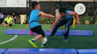 橄于挑战 青出于榄 杭州骏意玛莎拉蒂亲子橄榄球体验营