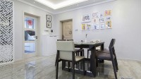 130平米三室两厅现代简约风格装修设计