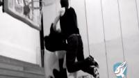 秒杀nba!白乔丹复刻升级戈登扣篮大赛动作 篮球教学视频