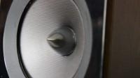 SPHJ-208-老唱机-高端大气音响设备音响测试音箱喇叭震动运行镜头特写高清视频实拍