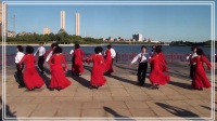 炫舞人生舞蹈團表演北京平四《愛在草原》