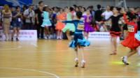 广东省体育舞蹈拉丁舞比赛女子10岁以下恰恰