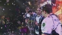 SLi国际邀请赛S3 Liquid夺冠捧杯时刻