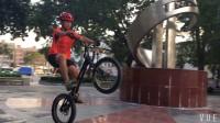 深圳新手街攀攀爬自行車練習