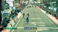 世界冠军彼得萨甘的自行车特技