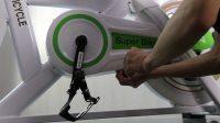 动感单车链盒拆卸方法