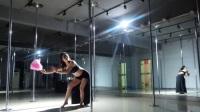 西安钢管舞培训 依依老师《青狐媚》独舞展示