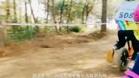 桂林波菜体育漓骑儿童平衡车野外山里赛