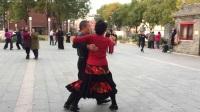 北京枣林公园交谊舞探戈