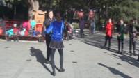2017年北京原红燕规范交谊舞舞蹈培训班。新学员吉特巴舞展演:刘健老师;学员杨秀兰。