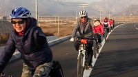 密云区老兵骑行队低碳环保绿色出行