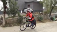 休闲骑游小五台一一台沟村。自行采购齐动手 美味水饺香味浓
