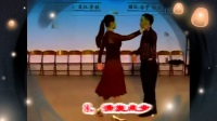 现代探戈交谊舞教学示范