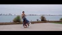 最美之舞一镜到底双人爵士舞,简单的韩国舞蹈教学