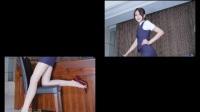 性感美女空姐丝袜长腿制服诱惑写真