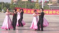 河池宜州区众乐交谊舞培训中心  慢三《月亮船》  指导:邓老师