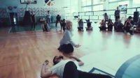 真情侣甜蜜爵士舞Stand by Me,韩国舞蹈教学视频女生