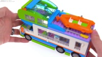 41339 [积木砖家]乐高LEGO Friends Mia's Camper Van review!