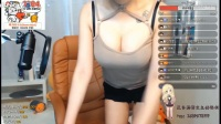 BJ韩国美女主播性感热舞,低胸紧身衣性感诱惑!