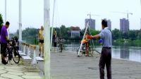 钢管舞空竹创始人老愚公教学示范 40-351左右开弓